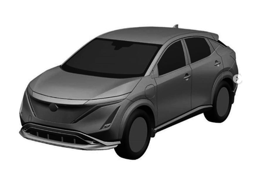 Nissan Ariya front side