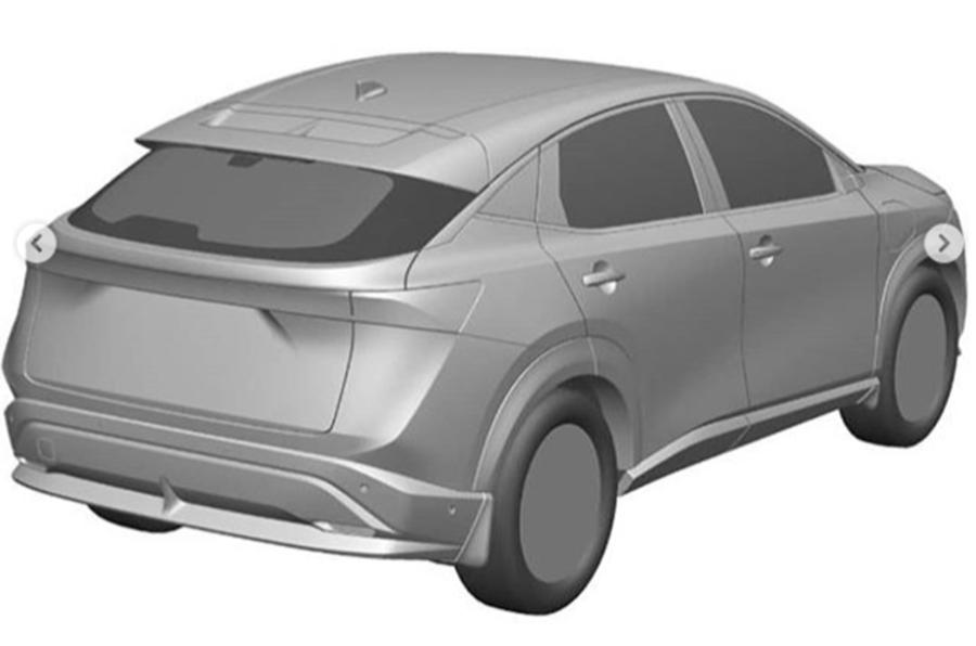 Nissan Ariya rear side