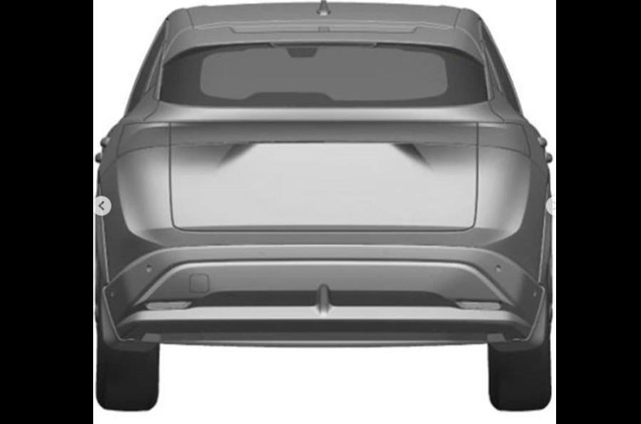 Nissan Ariya rear
