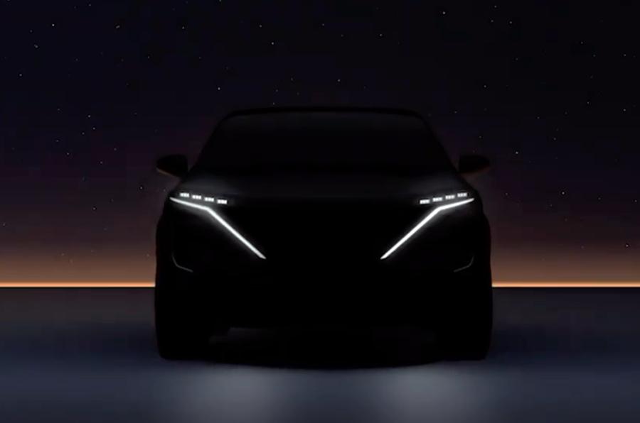 Nissan Ariya teaser front