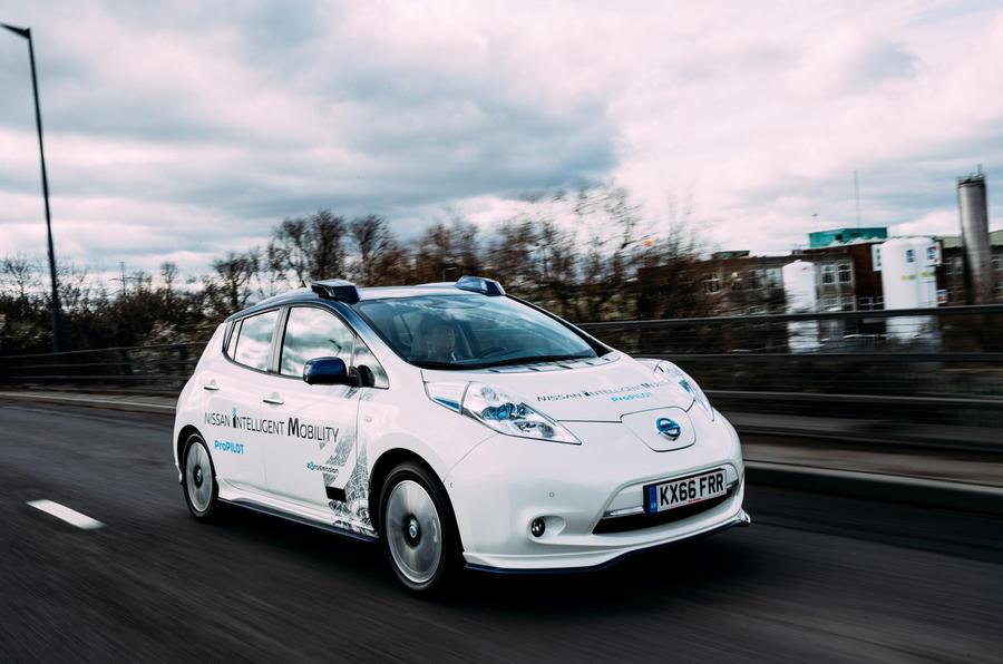 Nissan autonomy
