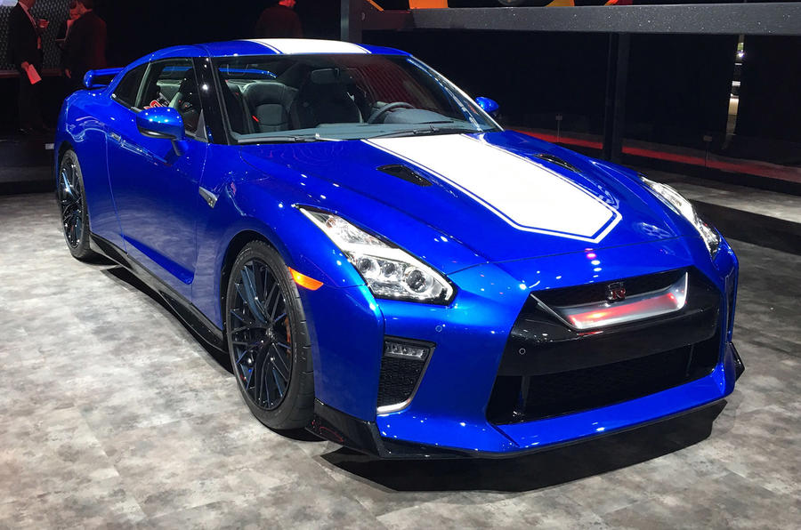 Nissan reveals retro-inspired GT-R 50th Anniversary ...