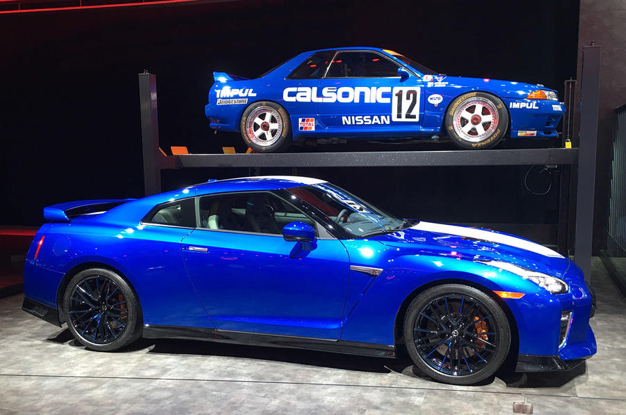 Nissan GT-R 50th Anniversary edition - New York motor show 2019 - side