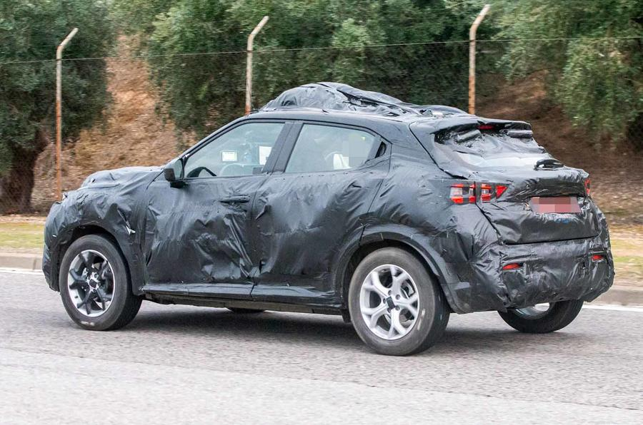 New Nissan Juke: new preview of revamped crossover shown ...