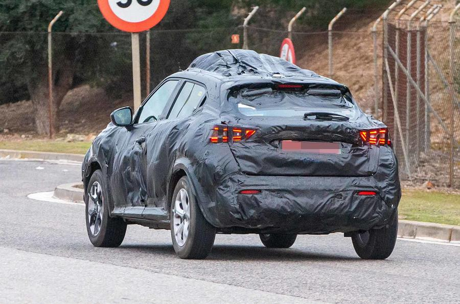 New Nissan Juke New Preview Of Revamped Crossover Shown