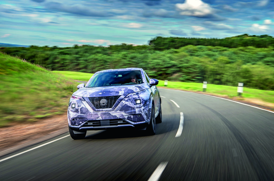 2020 Nissan Juke prototype drive - driving front