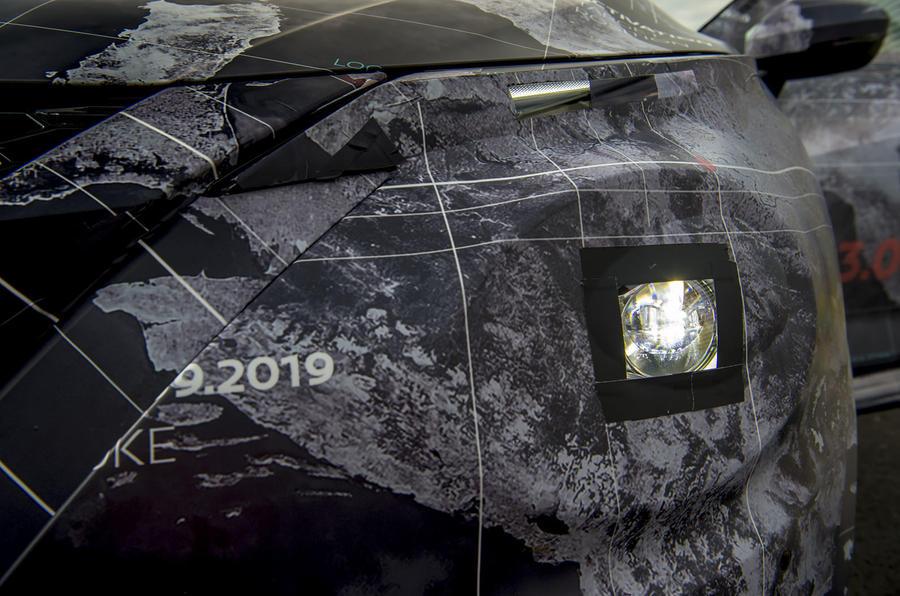 2020 Nissan Juke prototype drive - front detail