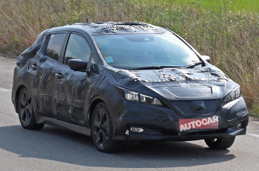 Nissan Leaf Spy Photos Hint Launch Is Very Near?