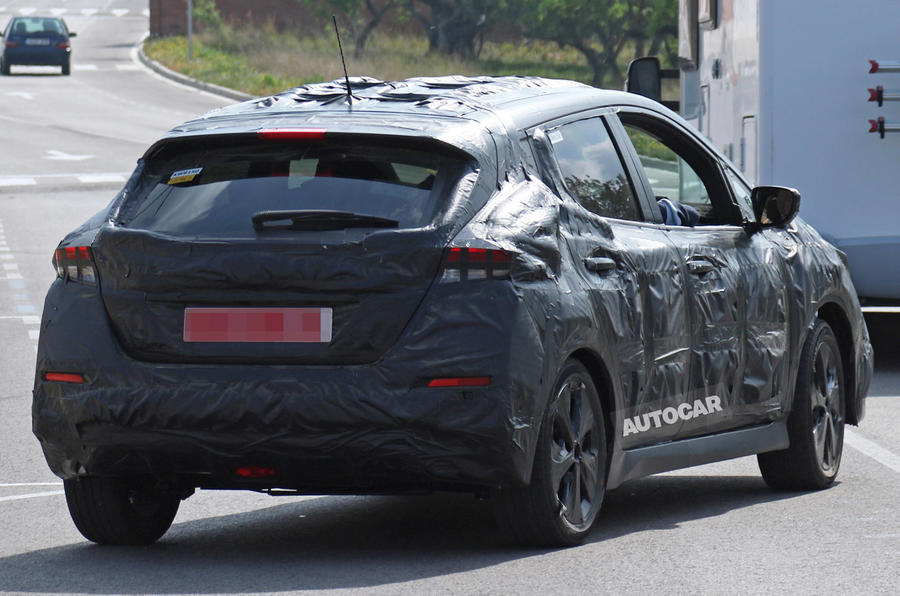 Published the first photo of Nissan Leaf the new generation