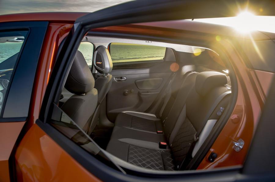 Nissan Micra rear seats
