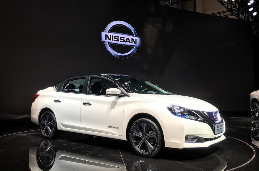 Beijing motor show – Nissan Sylphy