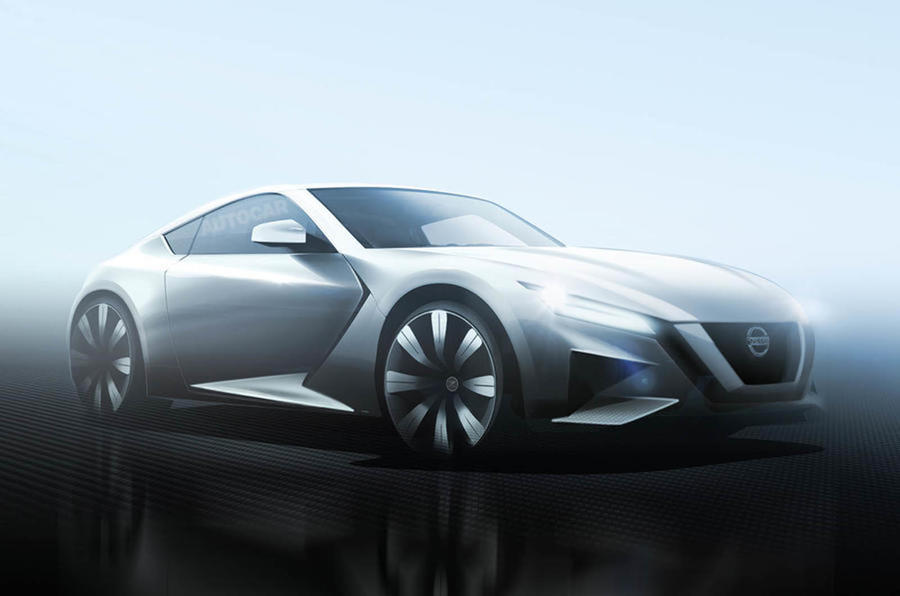 New Nissan Sports Car Will Be A Sister Model To The Infiniti Q60. Nissan Z  Car