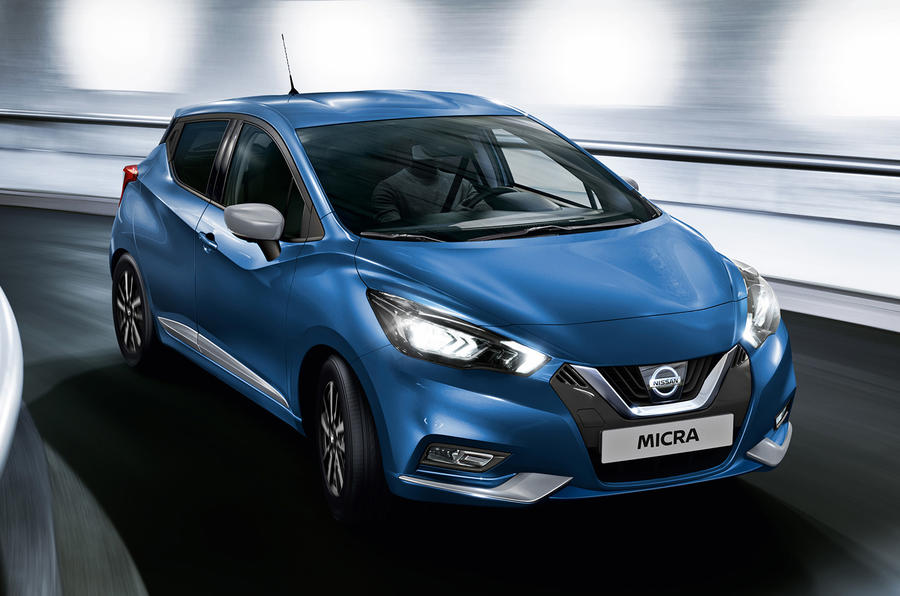 Nissan Micra 2021 - front
