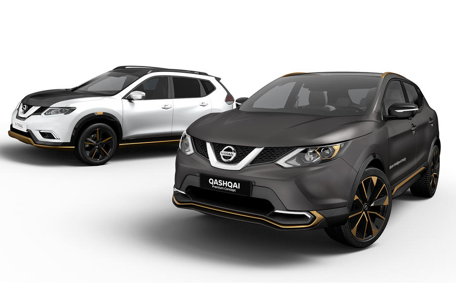 Nissan Qashqai and X-Trail concepts