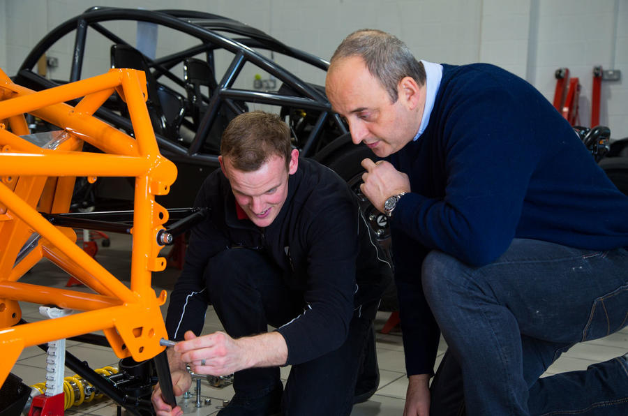 Frankel turns his hand to Nomad assembly