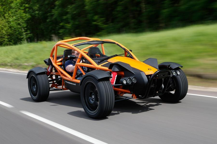 Ariel Nomad top 10 lightweights lead