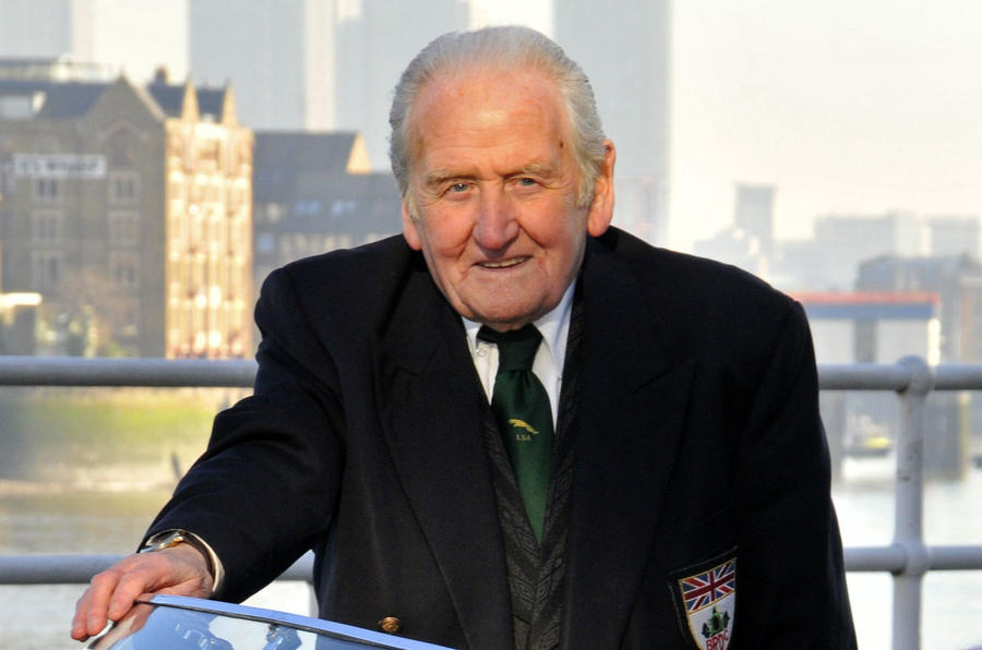Jaguar testing guru Norman Dewis honoured with an OBE