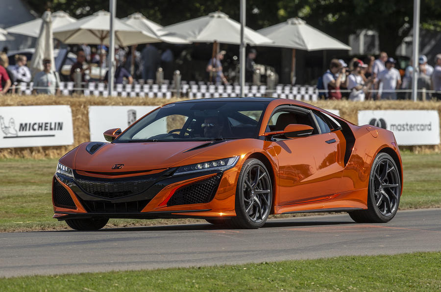 2019 Honda NSX arrives in the UK