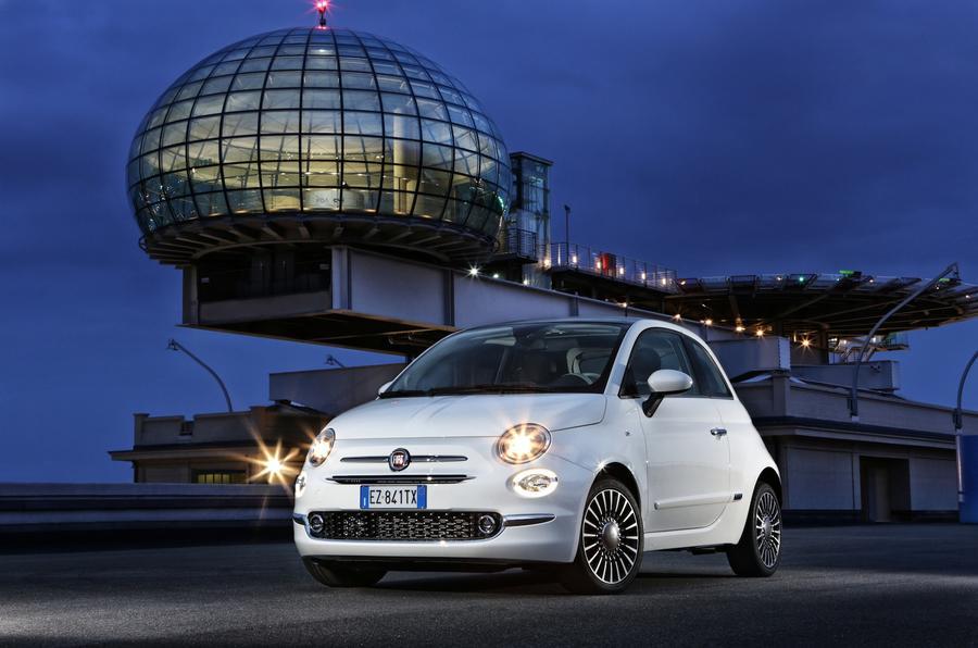 3.5 star Fiat 500 Lounge