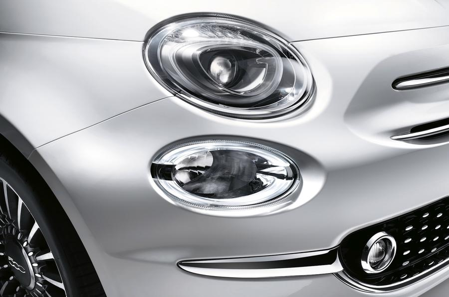 Fiat 500 bi-xenon headlights