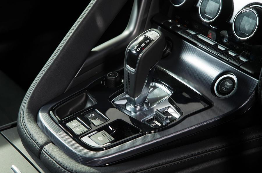 Jaguar F-Type gearbox