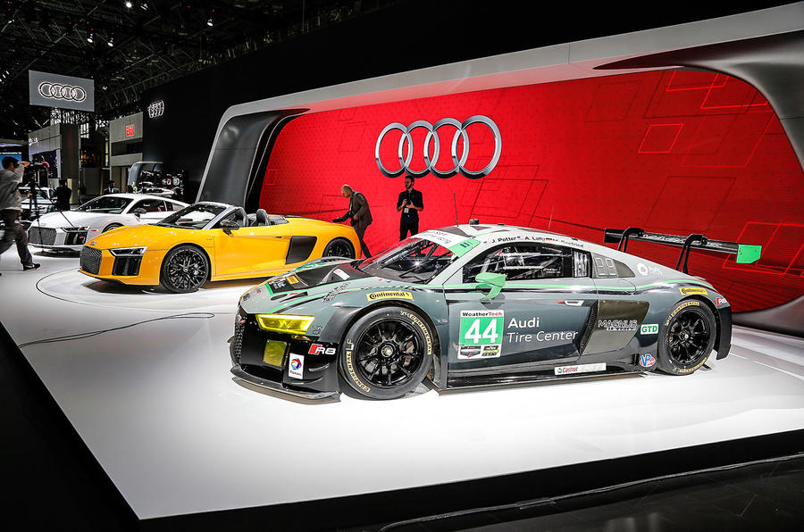 Audi's New York show stand