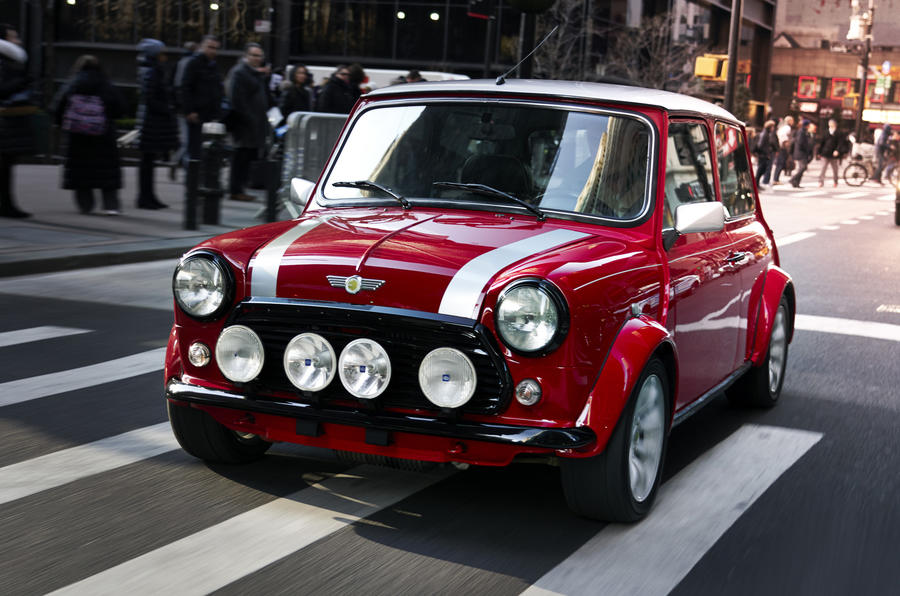 Classic Mini Electric First Drive Of One Off Ev Autocar