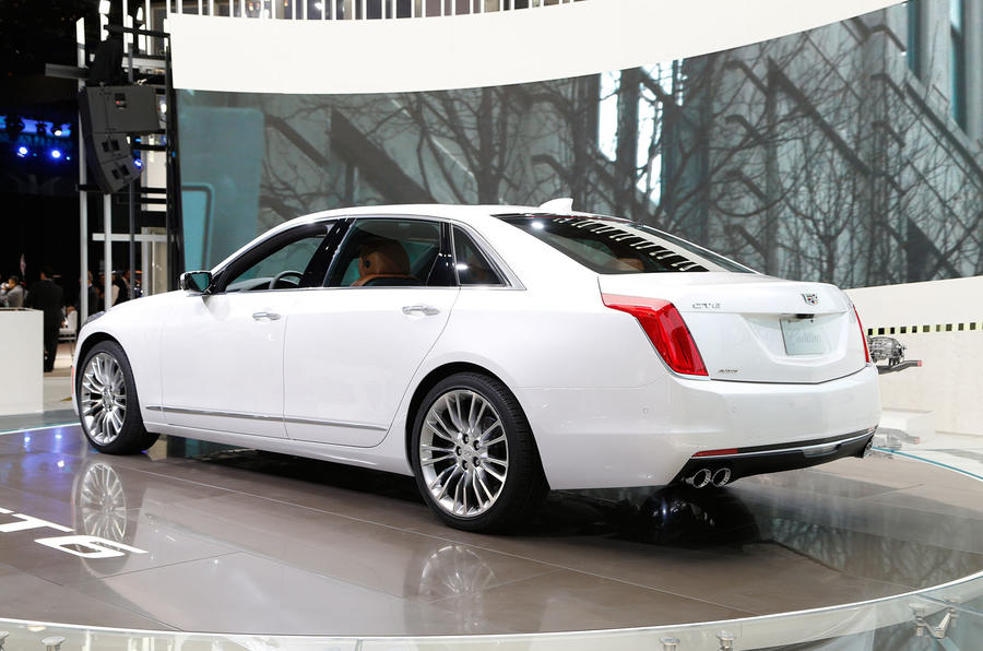 cadillac ct6 to take on s class autocar. Black Bedroom Furniture Sets. Home Design Ideas