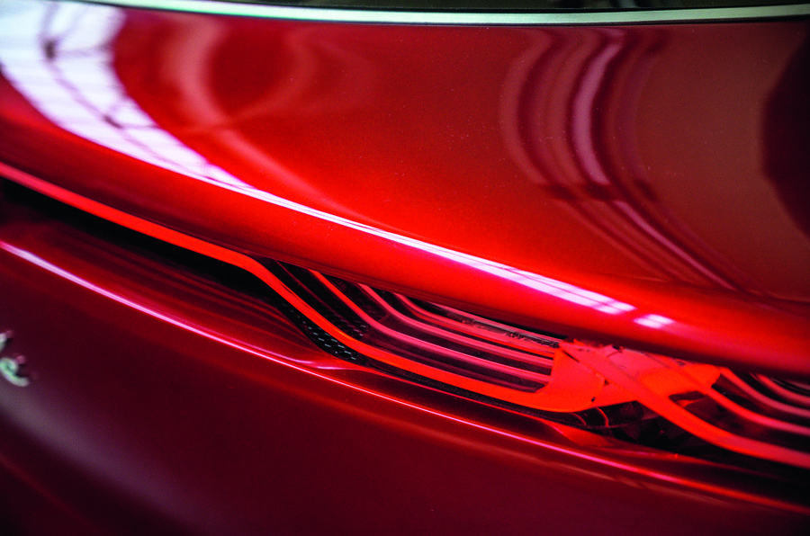 Alfa Romeo Tonale concept - brake light