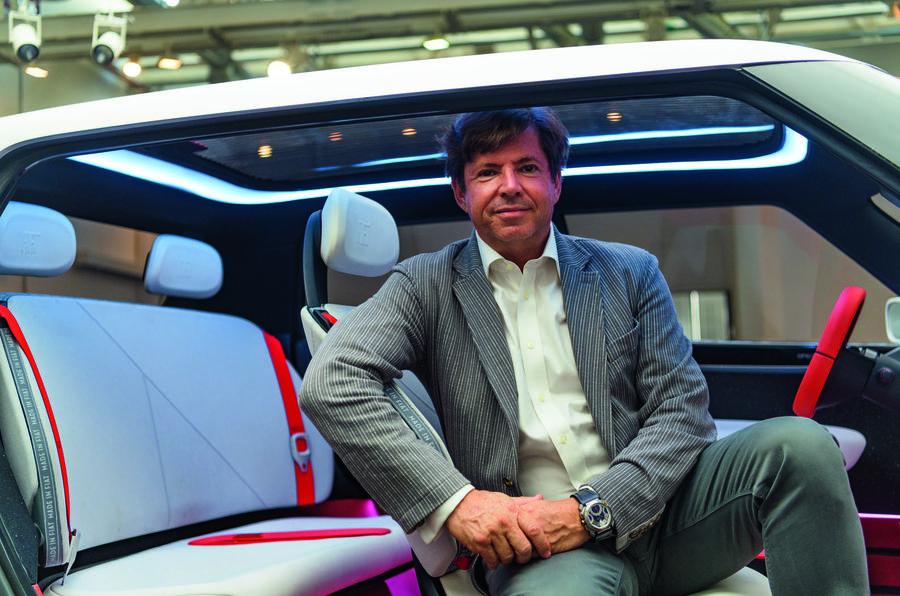 FCA boss Olivier François