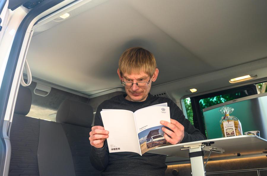 2020 Volkswagen California - reading
