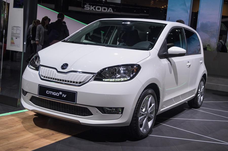 2019 Skoda Citigo-e iV at Frankfurt motor show