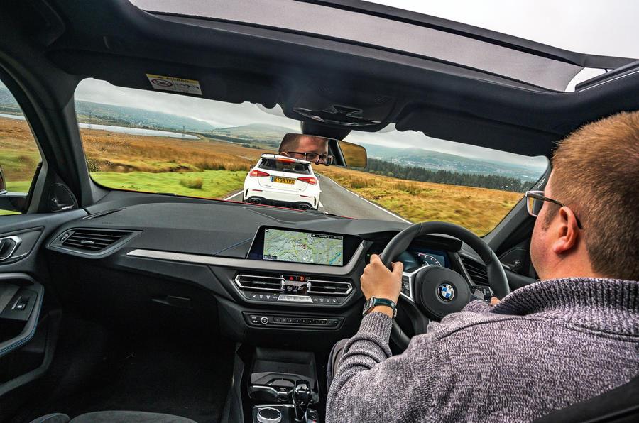 Tester in car