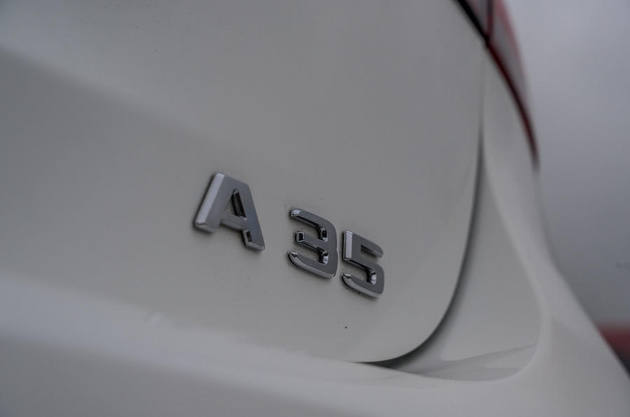 Mercedes rear badge