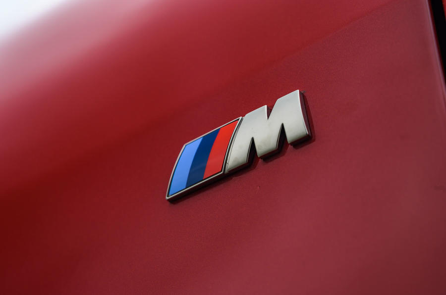 BMW rear badge