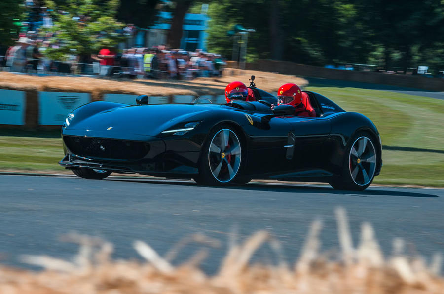Ferrari showcase Monza SP2 at Goodwood