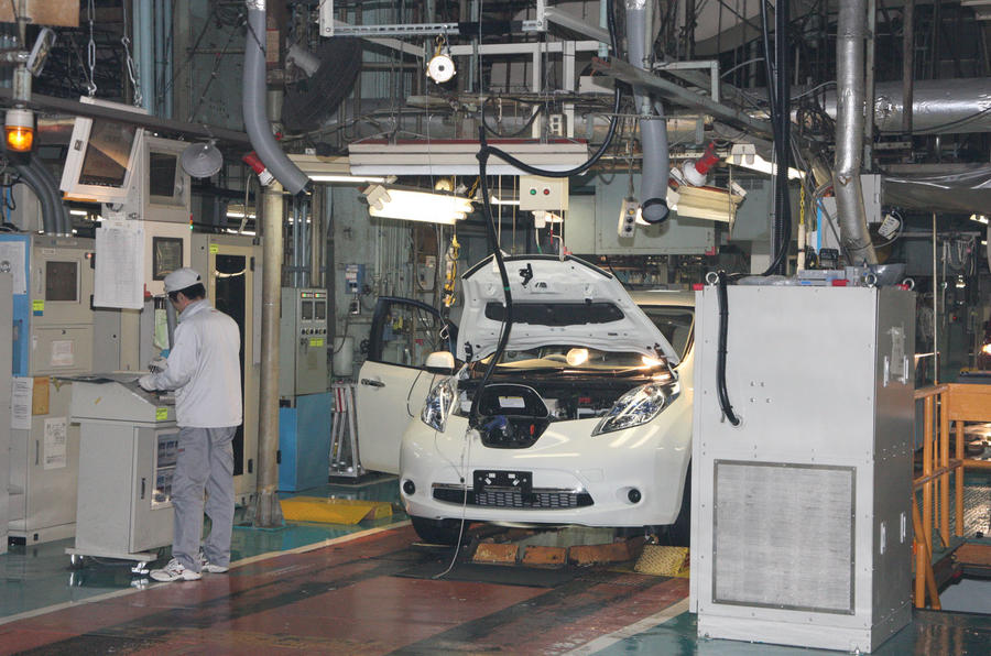 Nissan suspends all vehicle production in Japan