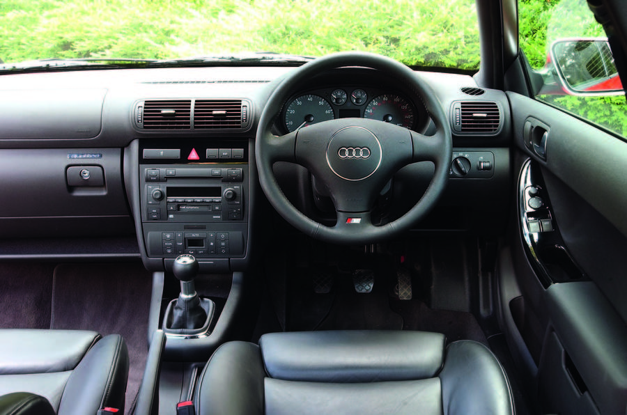 Used car buying guide: Audi S3 Mk1 - interior