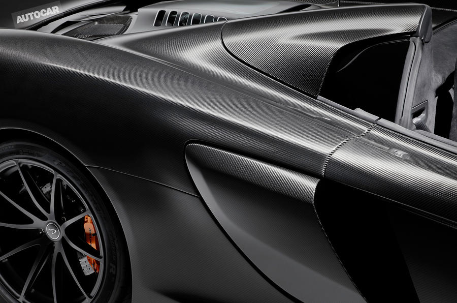 McLaren 675LT MSO Carbon Series - limited-edition model revealed