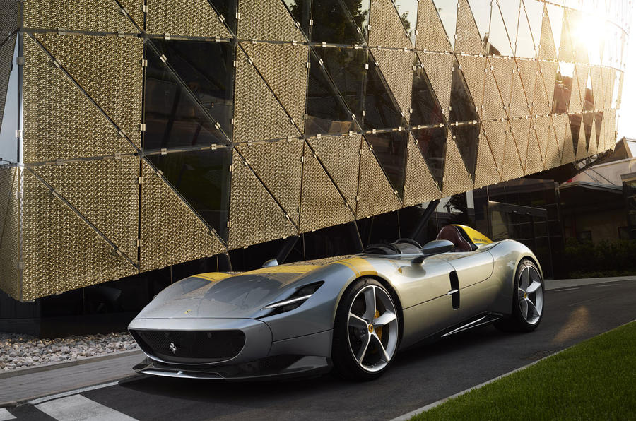 Monza SP1 at Ferrari's new design centre
