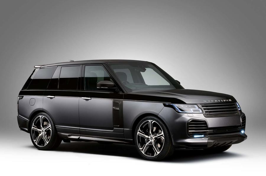 Range Rover Overfinch >> New Overfinch Range Rover Adds Carbonfibre And Ostrich