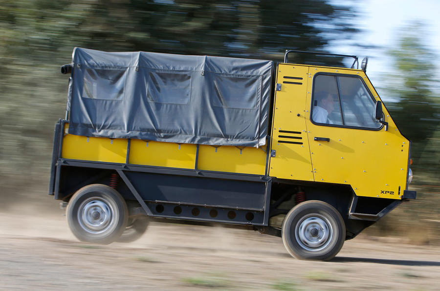 Gordon Murray-designed flat-pack truck revealed