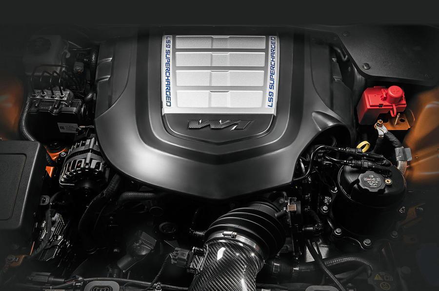 HSV GTSR W1's 636bhp V8