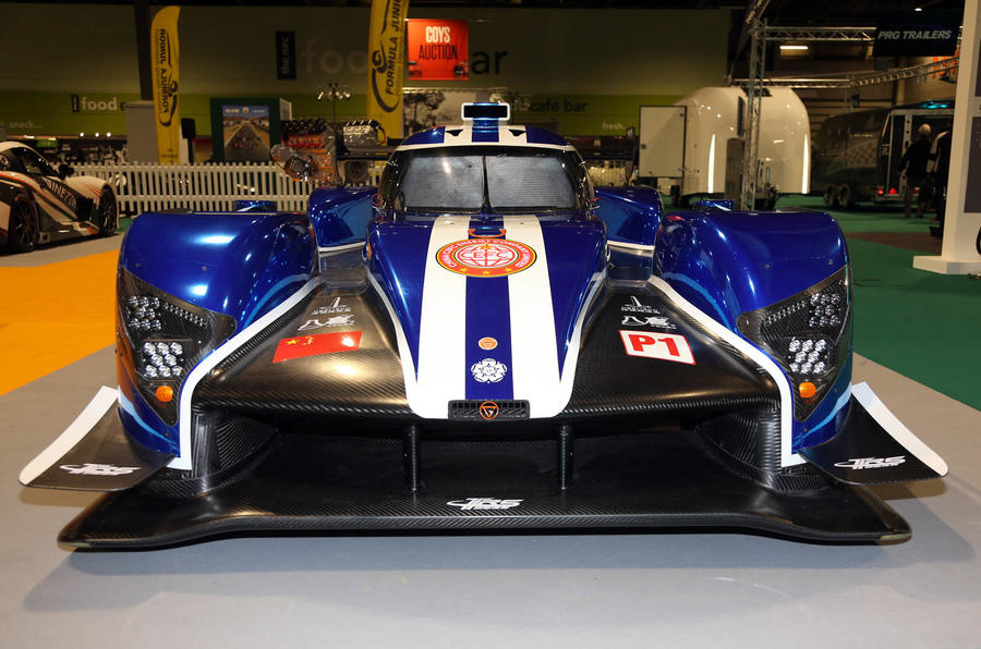 Ginetta Le Mans racing car