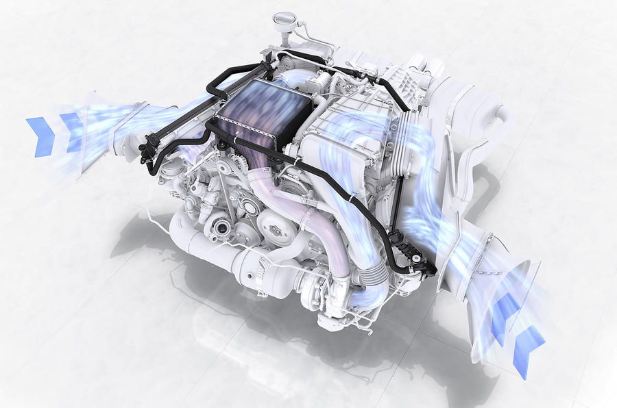 Porsche 718 Boxster engine diagram