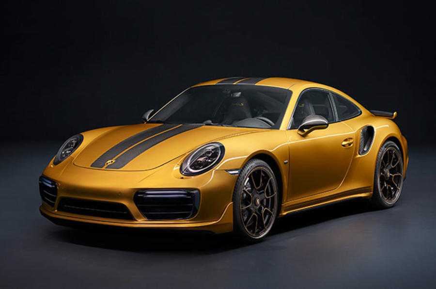 Porsche adds power and prestige to new 911 Turbo S Exclusive