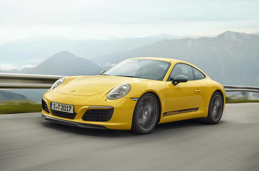 Porsche 911 Carrera T revealed as pared-back variant