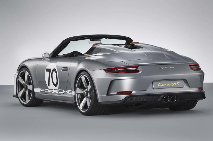 Drop-top Porsche 911 Speedster concept revealed