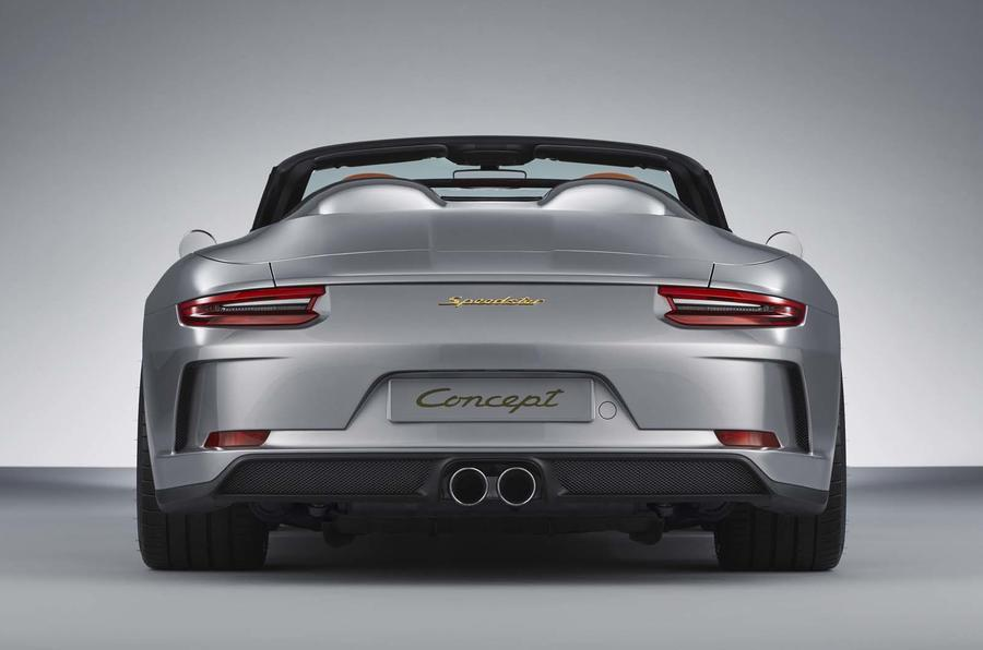 Porsche celebrates 70th ann. with 911 Speedster Concept