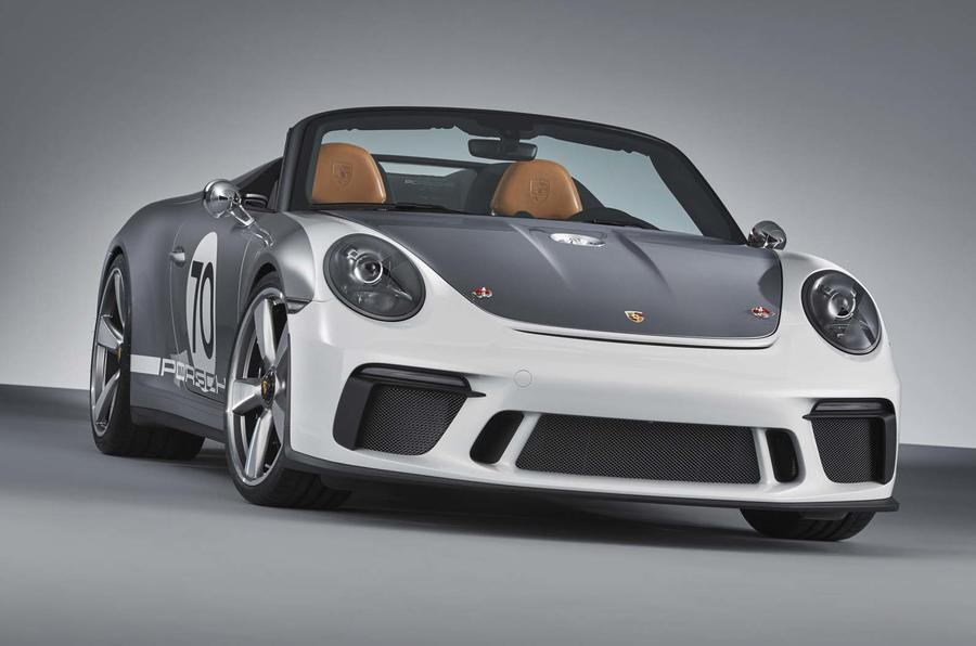 Porsche 911 Speedster Concept Unveiled, Packing 500 HP and 6-Speed Manual